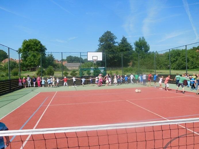 Víceúčelový sportovní komplex pro obec Volenice a okolí
