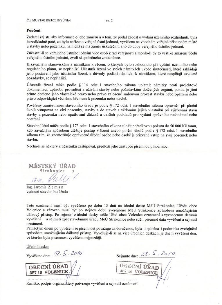 Mstský úYad Strakonice (Odbor - stavební úYad)