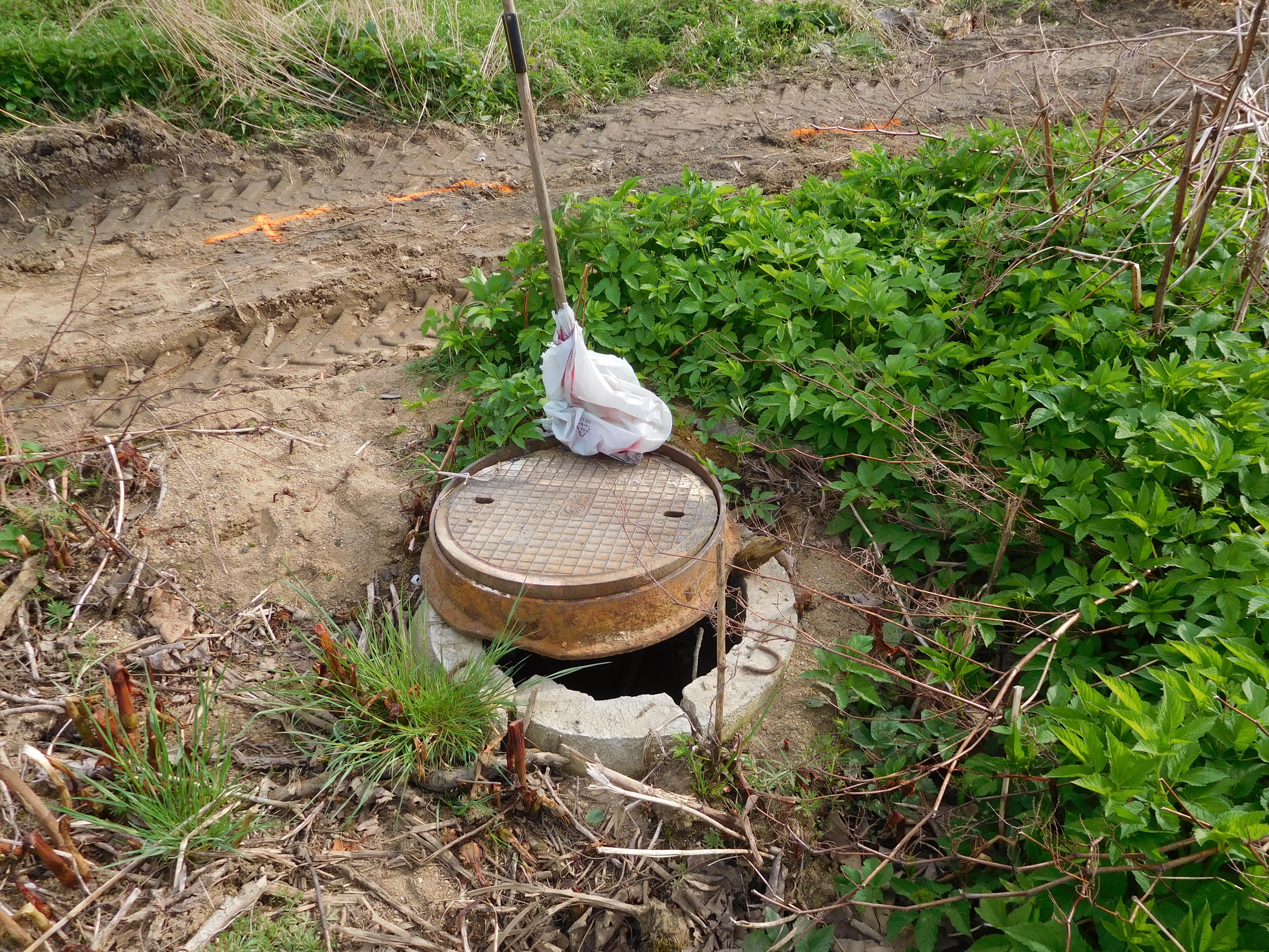 Kanalizace Volenice směr Krejnice