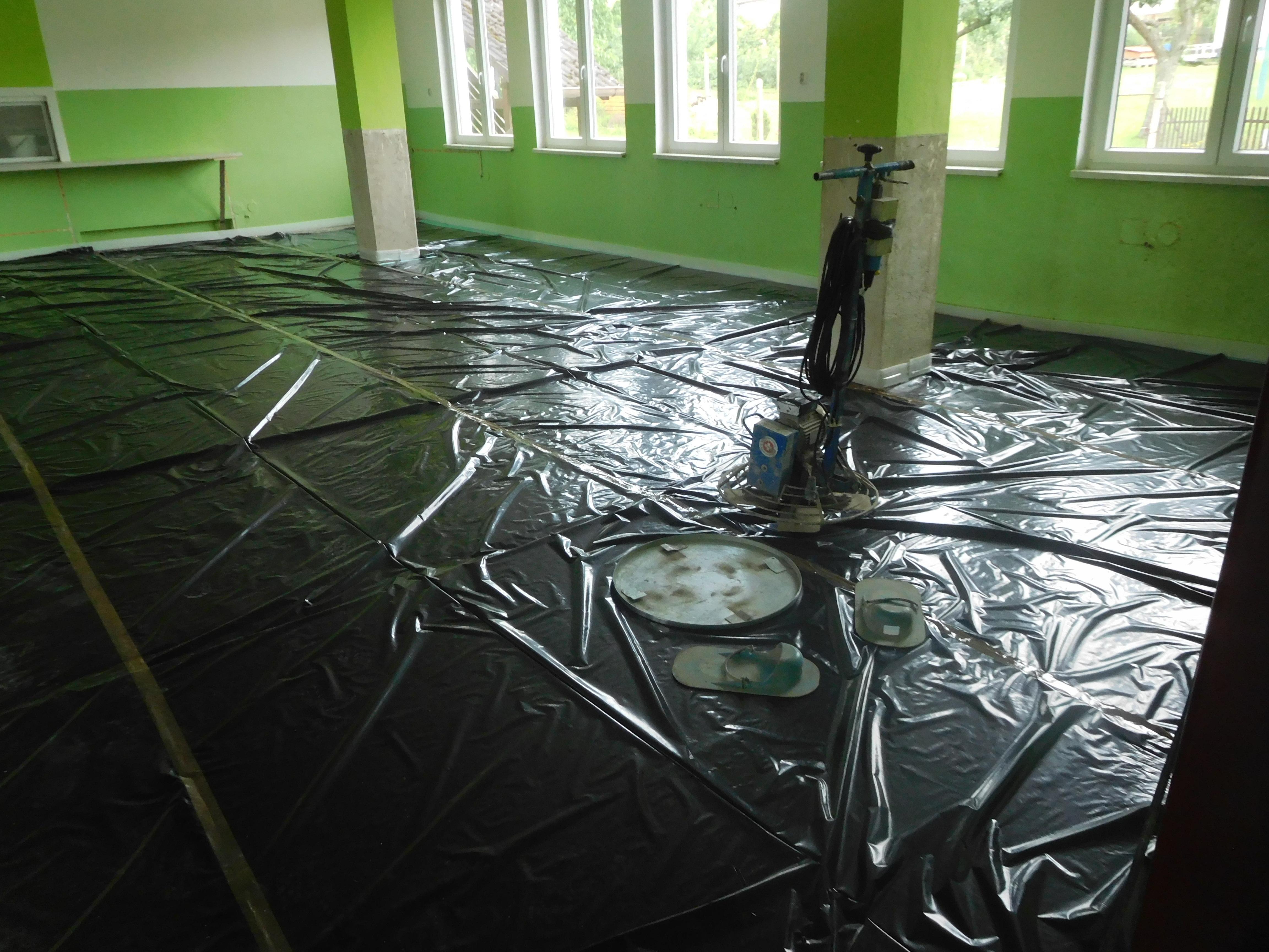 Oprava podlahové krytiny a pořízení vybavení školní jídelny ZŠ a MŠ Volenice