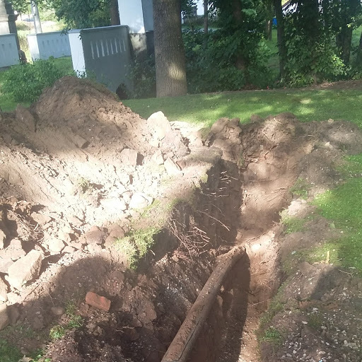 Oprava kanalizace v obci Volenice směr Krejncie