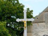 nově opravený křížek